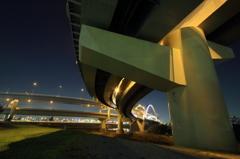 五色桜大橋へ向かって #21