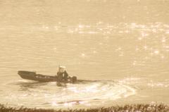漁船一瞬#4 カッコイイ^^