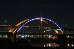 五色桜大橋へ向かって #24