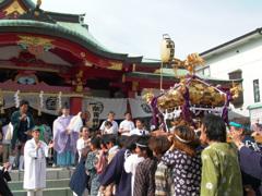 990潮田神社の夏祭り