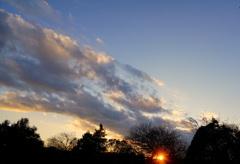今日の空はすがすがしい