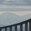 立山連峰へ向かって