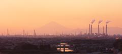 市原の夕景 1