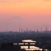 市原の夕景
