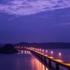 夜の角島②