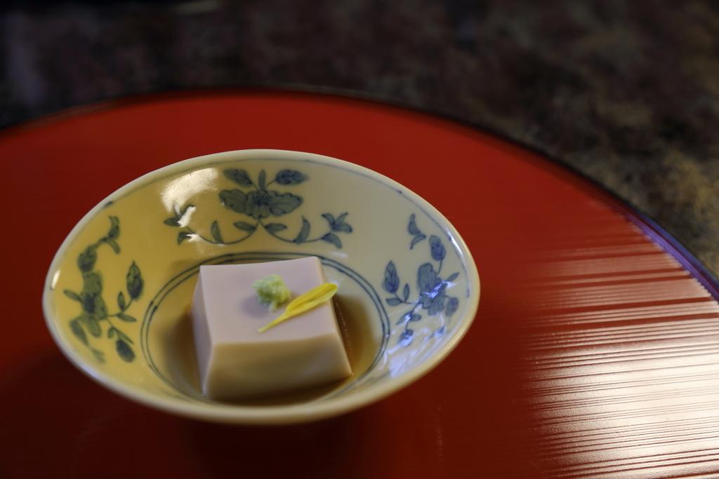 豆腐懐石。