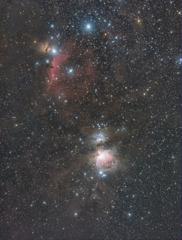馬頭星雲 オリオン大星雲 200223