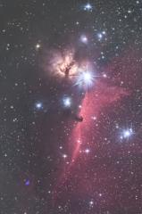 馬頭星雲 160211