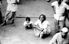 1979年インド カルカッタ 港にて