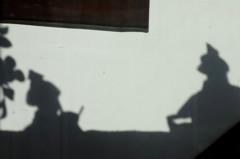 真壁のひな祭り 「影雛」
