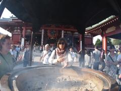 浅草寺ブラブラ8-5「香炉」