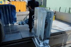 暑いので「氷」3-2「スルリと冷凍庫へ」