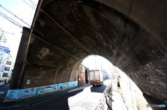 環状線アーチ橋 「アーチ」