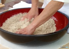 蕎麦を手繰る「合わせ」(1)