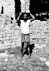 1979年インド カルカッタ 働く人