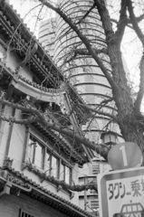 30年くらい前の大阪街角日記 南界隈編6-4「タク乗り場」