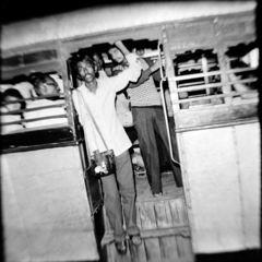 1979年 インド カルカッタ夜行8-7「熱夜」