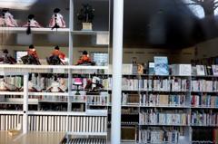 真壁のひな祭り 「図書館」