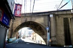 環状線アーチ橋 「穴場」