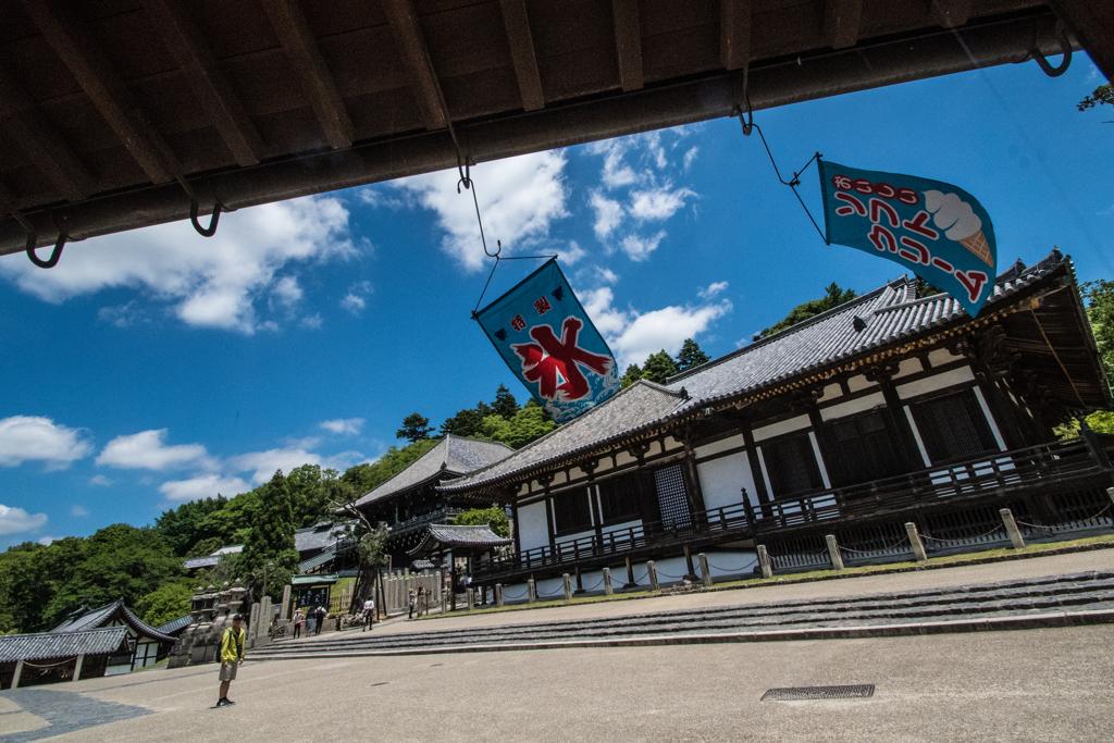夏模様(奈良東大寺二月堂、三月堂)