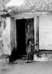 1979年インド カルカッタ 少女