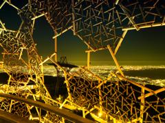 夜の大阪湾