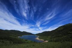 野反湖望景