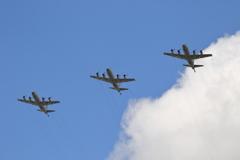 P-3C編隊飛行