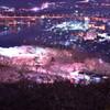 船岡城址公園平和観音像展望台からの一望