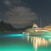 ボラボラ島の夜