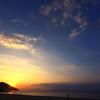 屋久島の夕陽