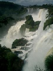 世界一の滝イグアス