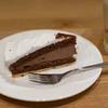 ケーキと辛口ジンジャーエール