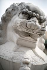 横浜中華街の狛犬