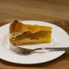 くまカフェのアップルパイ