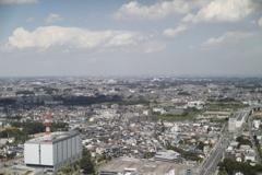 31階から見た、さいたま新都心