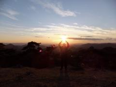 太陽をキャッチ!