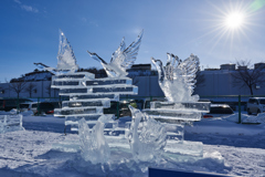 網走流氷祭り_2