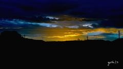 写真エッセイ:夕暮れ空のスペクタクル2