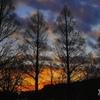 写真歌:初春の夕暮れ:NTW225