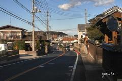 写真エッセイ:陸前浜街道26北方面:びんずる坂を抜けて2:NTW189