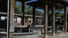 写真エッセイ:湯本2:足湯の公園