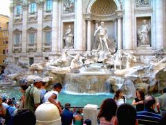 イタリア旅日記:ローマ・トレヴィの泉