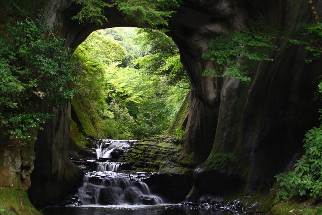 君津 濃溝の滝