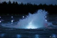 モエレ沼公園 海の噴水3