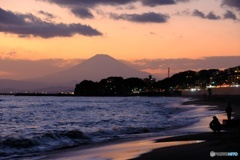 七里ガ浜より
