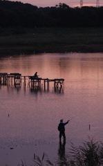 釣り人のいる風景II