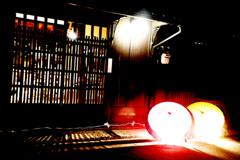 京町屋ライトアップ