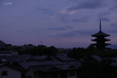 紫立ちたる雲の・・・