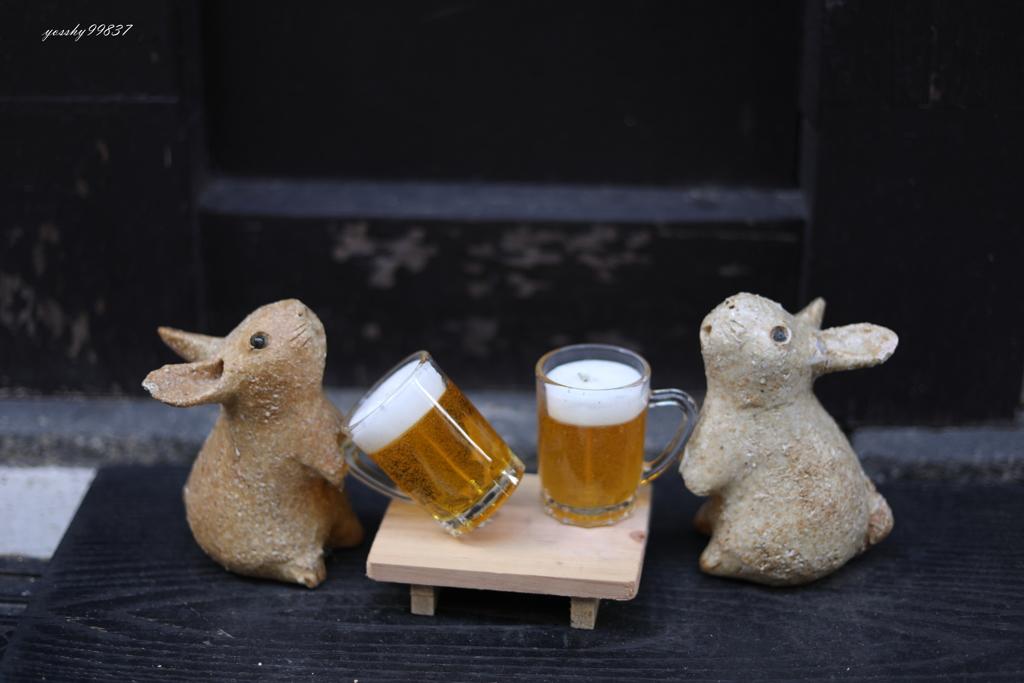 まずはビールで!